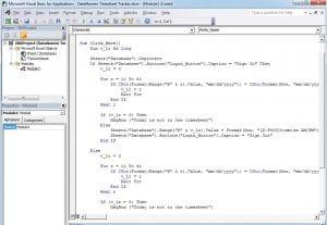 VBA Code