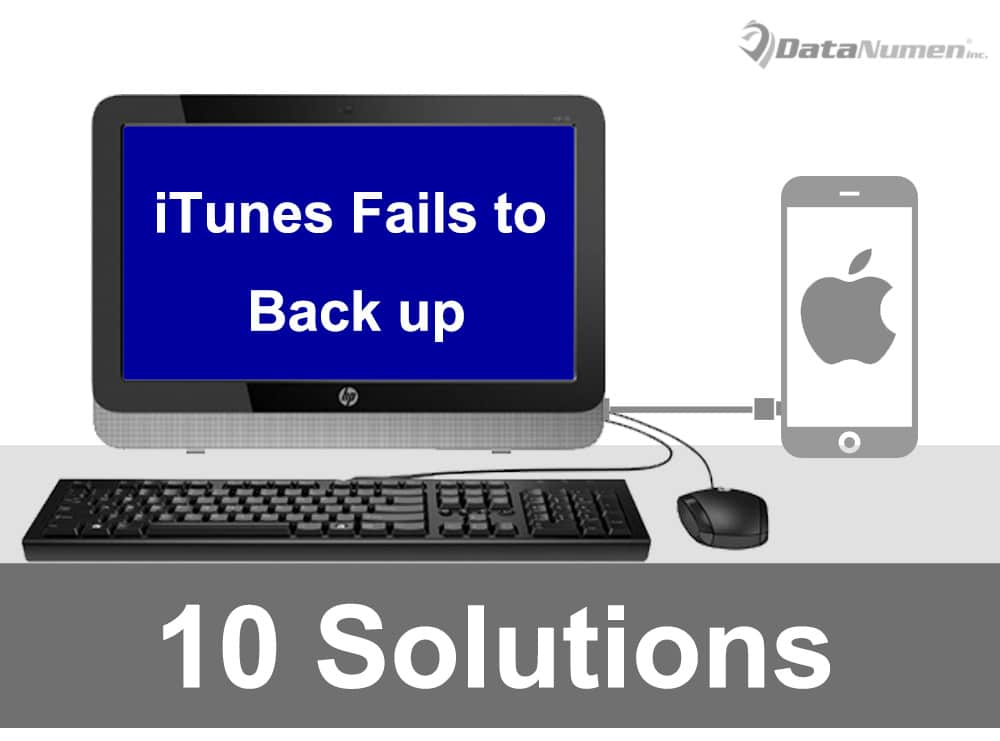 10 Solutions when iTunes Fails to Back up Your iPhone Data  Data Recovery Blog