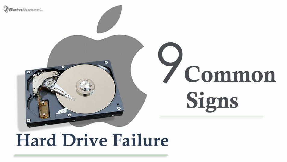 9 Most Common Signs of Hard Drive Failure on Mac System
