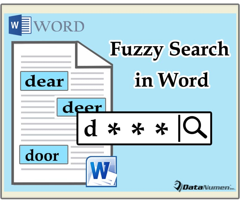 2 Useful Methods to Do Fuzzy Search in Your Word Document - Data