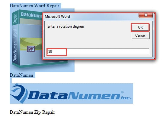 6 Effective Ways To Batch Rotate Multiple Images In Your Word Document    Data Recovery Blog  Degree In Microsoft Word