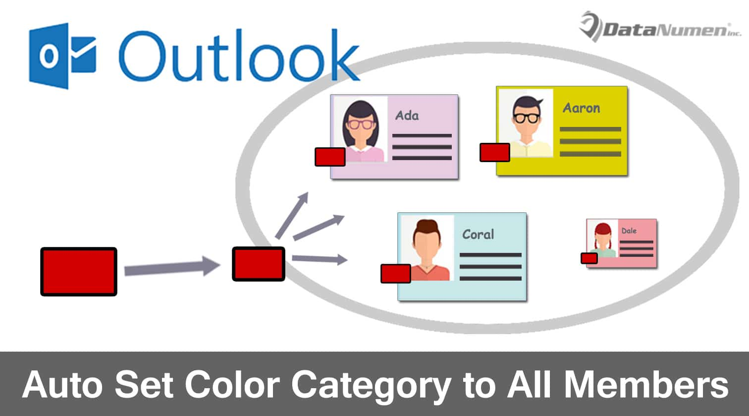 How to color inbox in outlook - How To Auto Apply The Same Color Category To All Members When Categorizing A Contact Group In Outlook Data Recovery Blog