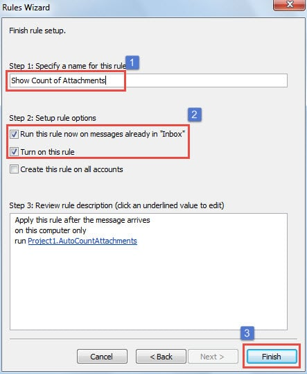 How To Display Attachment Count In Email List With Outlook