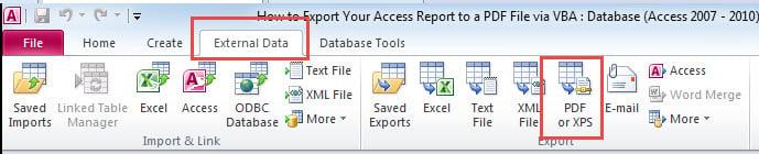 Manually Saved As PDF File