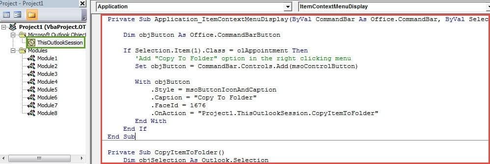 "VBA Code - Not Add ""Copy:"" Prefix in Subject when Copying a Meeting"