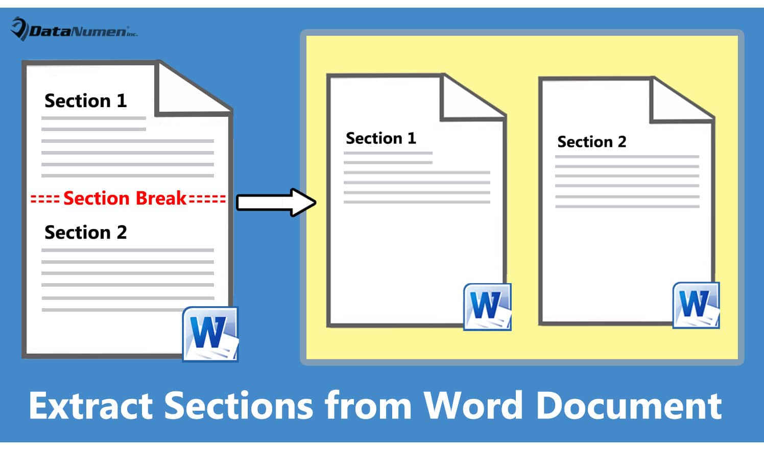 Extract Sections from Your Word Document