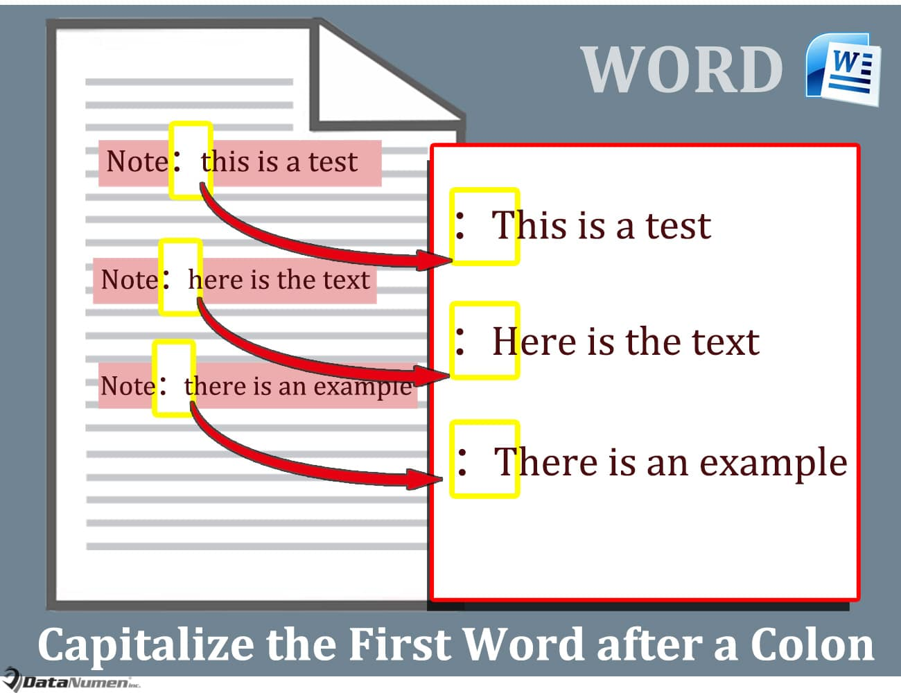 Capitalize the First Word after a Colon in Your Word Document