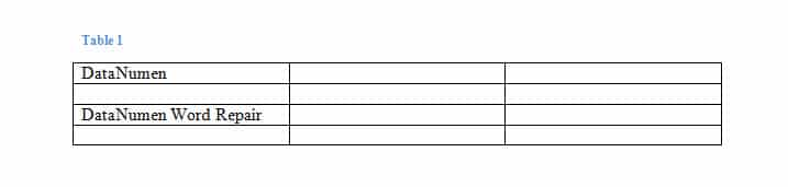 Effect of Clearing Table Style and Adding Borders