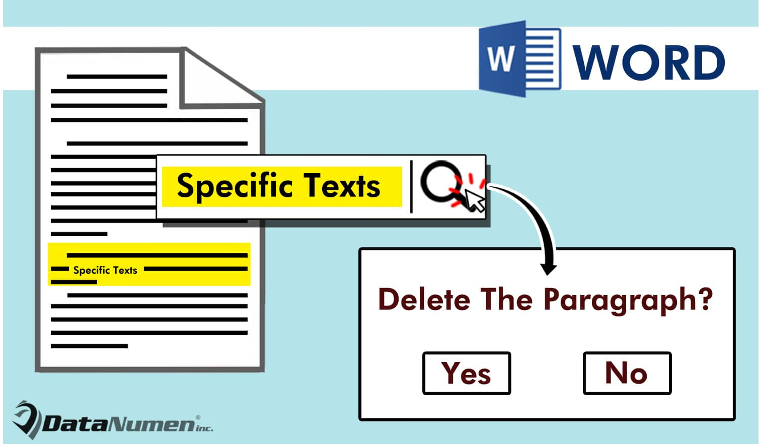 Find or Delete Paragraphs Containing Specific Texts in Your Word Document