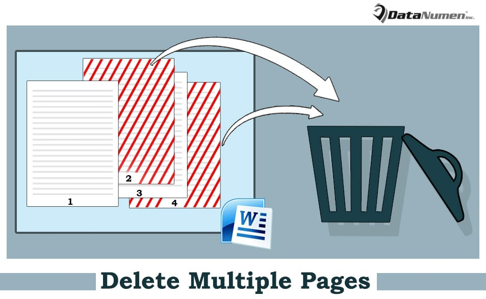 How to Quickly Delete Multiple Pages in Your Word Document via VBA - Data  Recovery Blog
