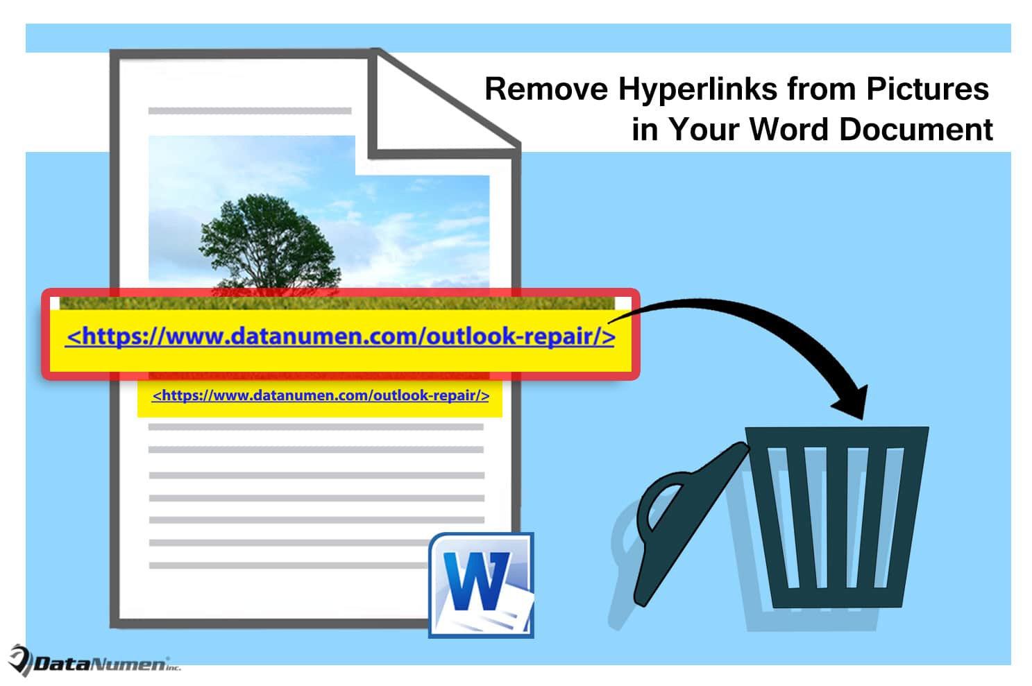 Remove Hyperlinks from Pictures in Your Word Document