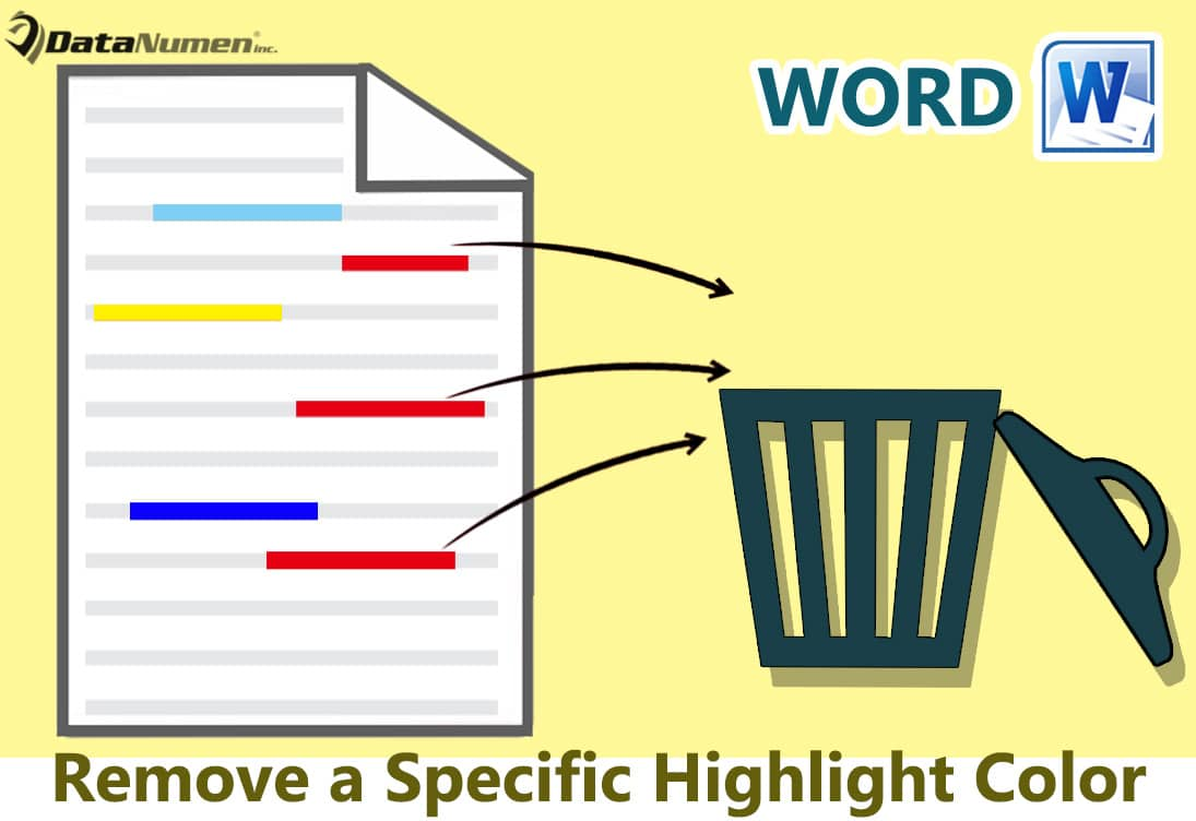 Remove a Specific Highlight Color from Your Word Document
