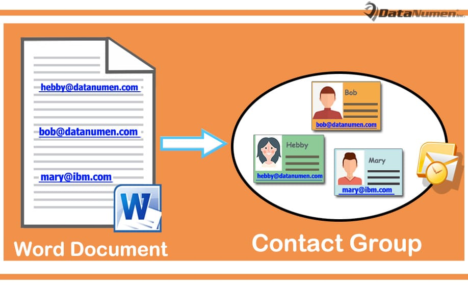 how to make a group email contact in outlook