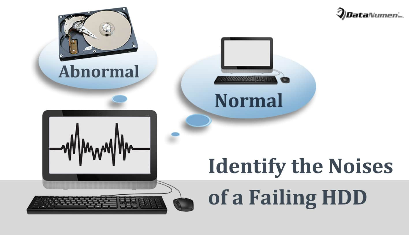Identify the Noises of a Failing Hard Drive in Computer