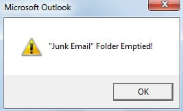 how to stop outlook emptying deleted items