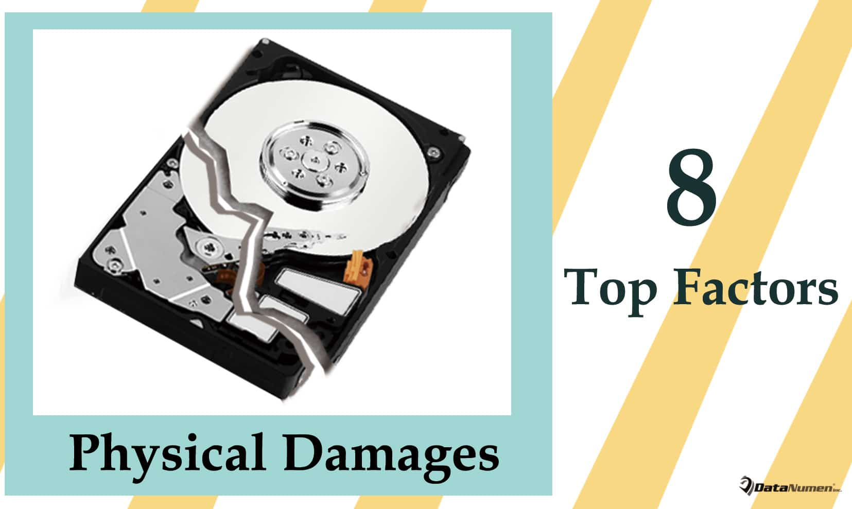 8 Top Factors Causing Physical Damages on Hard Drive