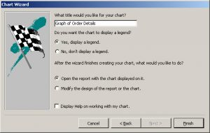 Add Charts To A Ms Access Report