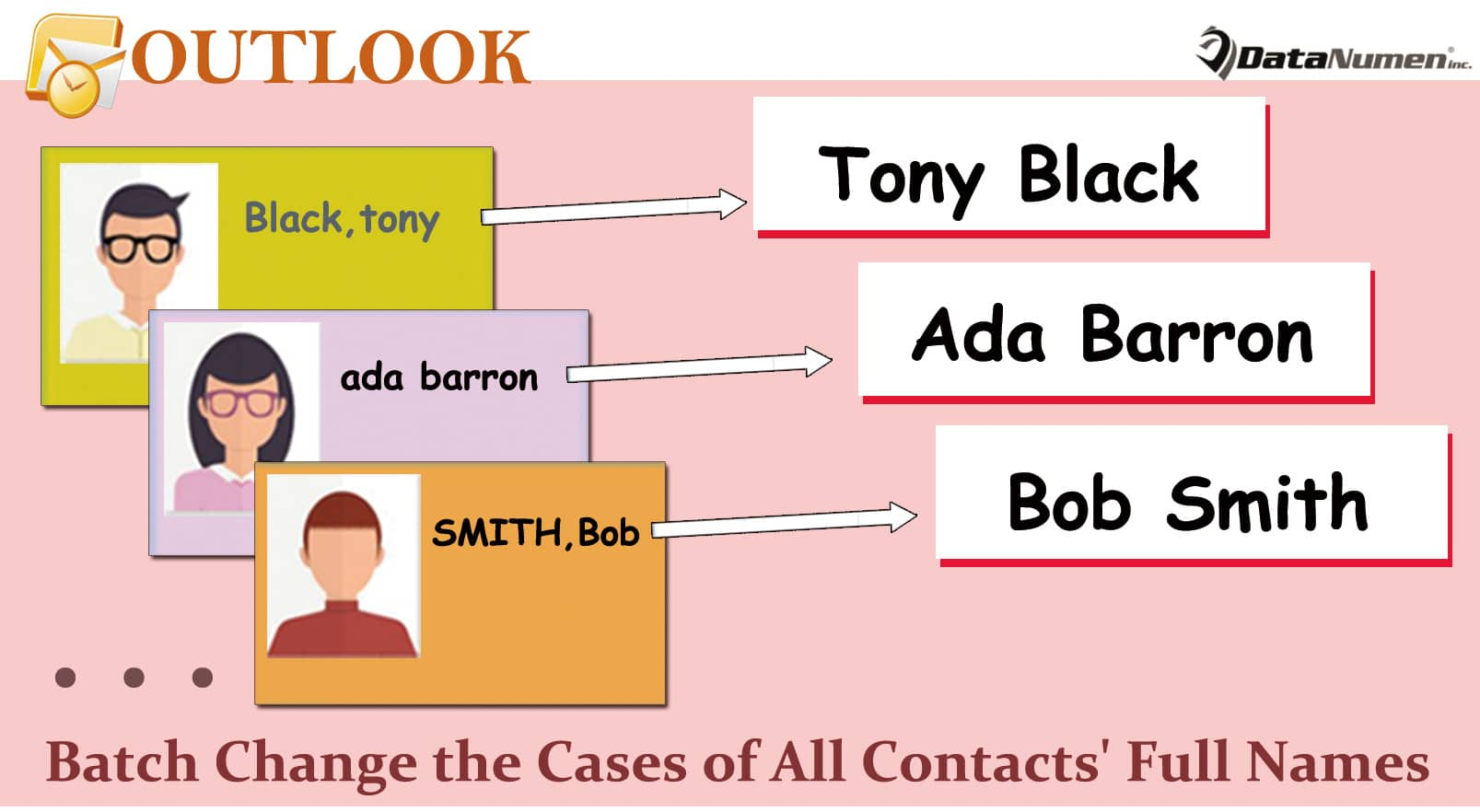 Batch Change the Cases of All Contacts' Full Names in Your Outlook