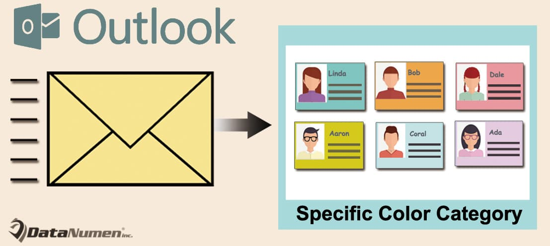 Batch Send Outlook Email to All Contacts in a Specific Color Category
