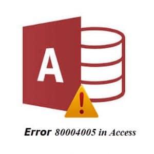 Error 80004005