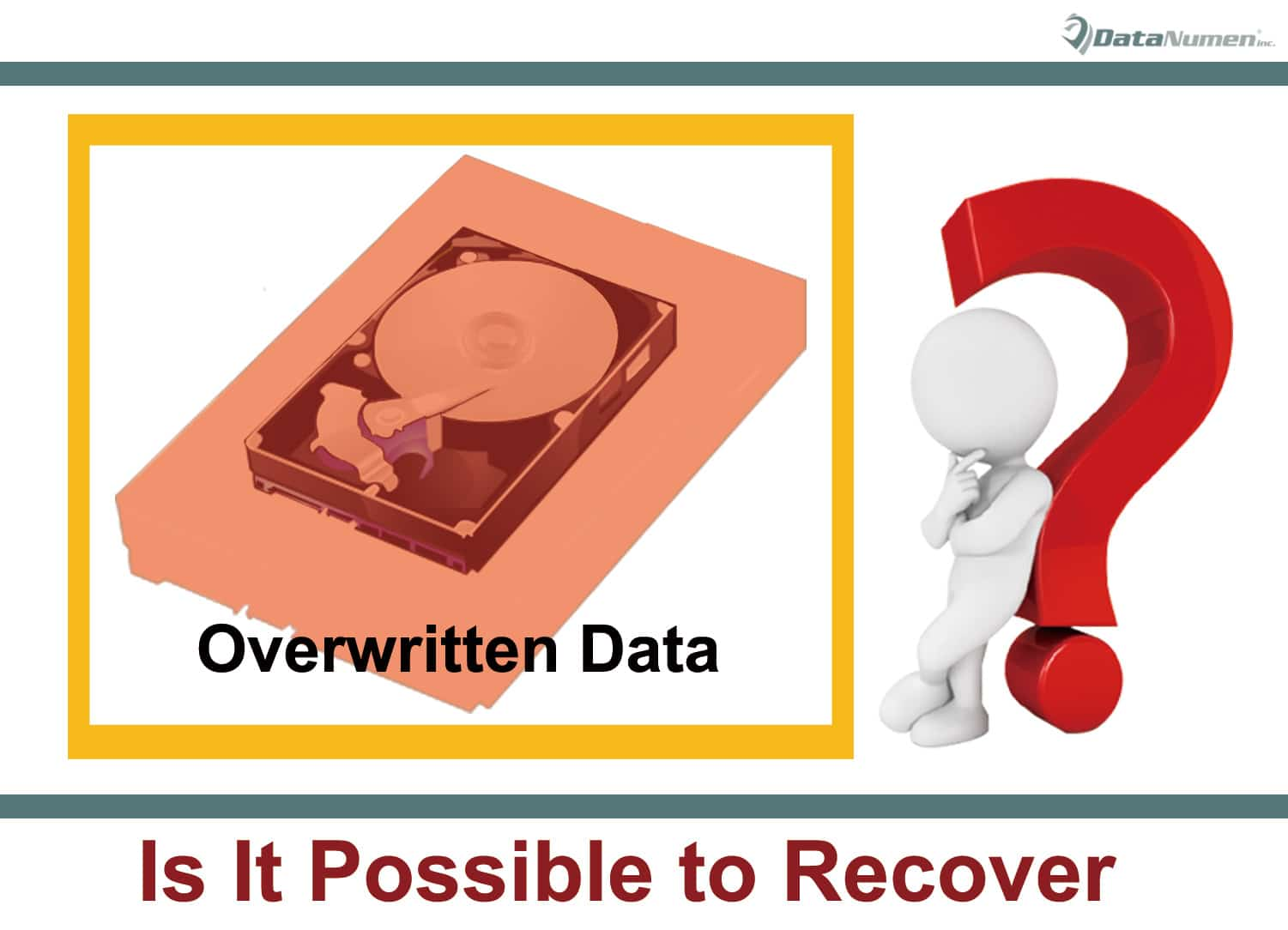 Is It Possible to Recover Overwritten Data