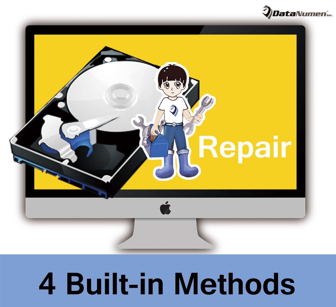 4 Built-in Methods to Repair a Failed Hard Drive on Mac System
