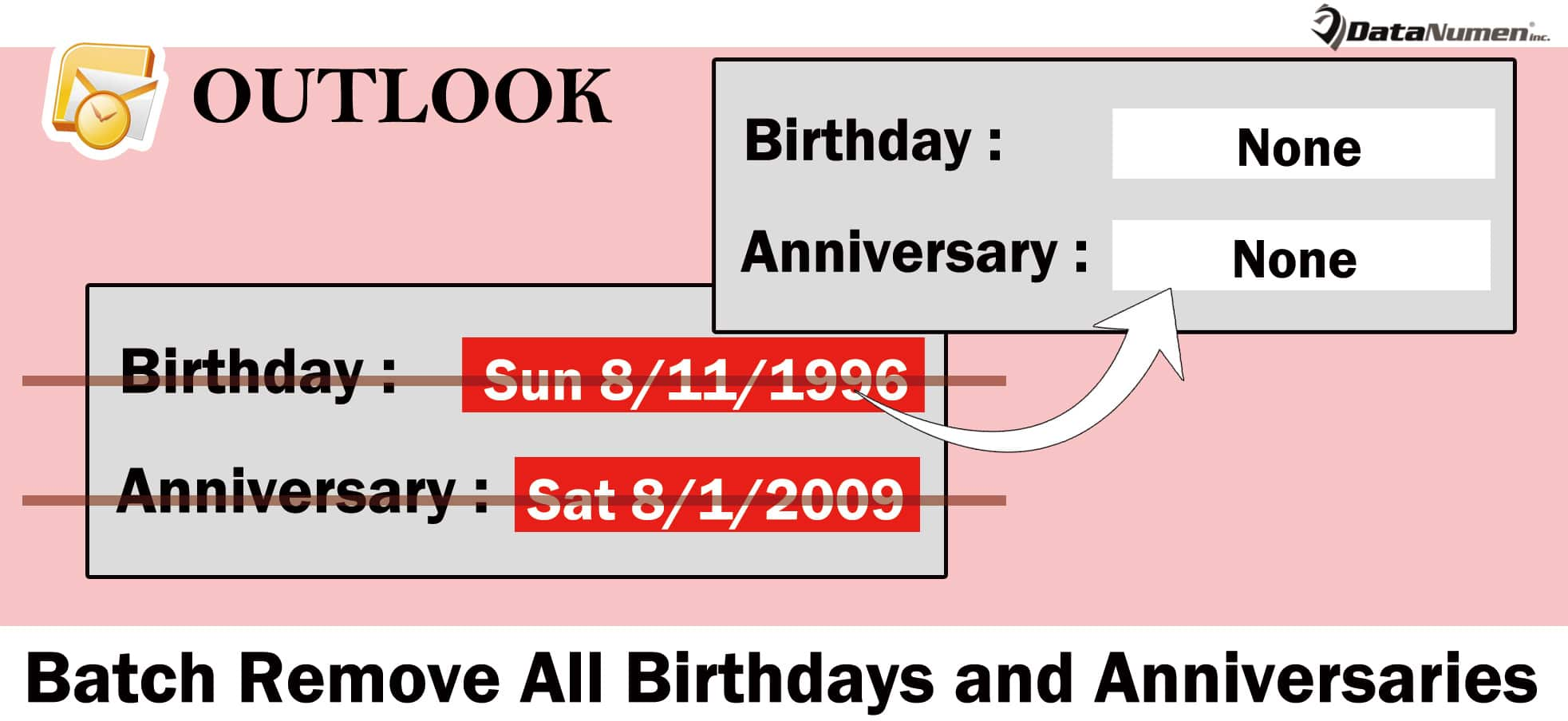 Batch Remove Birthdays and Anniversaries from All Contacts