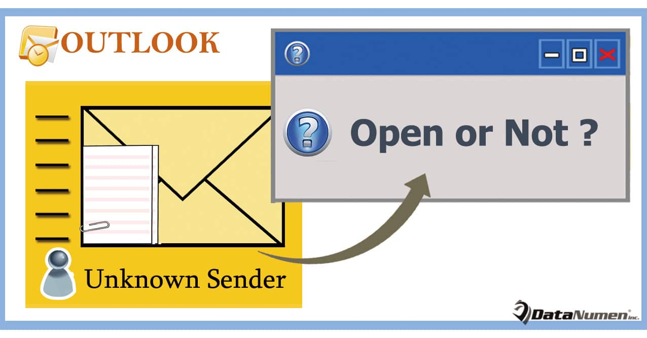 How To Get Warned Before Opening Emails Attachments From