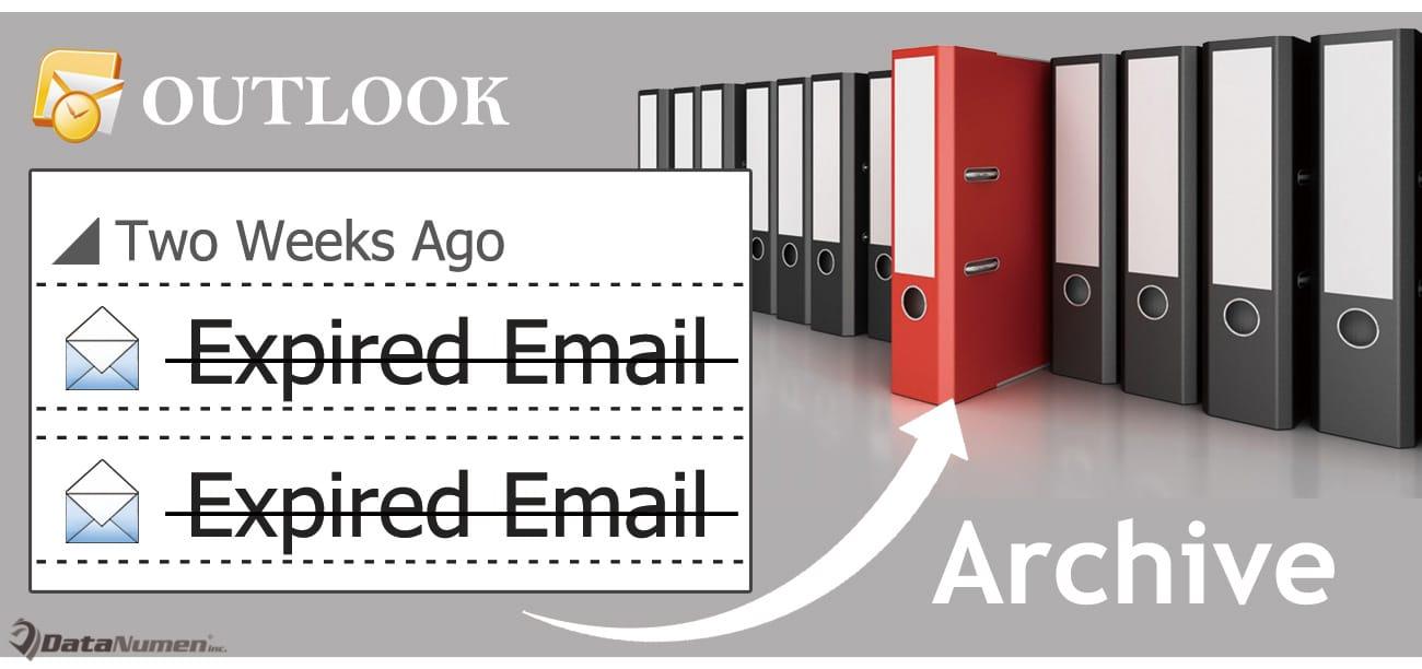 How to Quickly Archive All Expired Emails in Your Outlook - Data ...