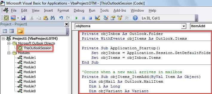 VBA Code - Auto Categorize New Emails Based on the Categories of Old Emails with Same Subject