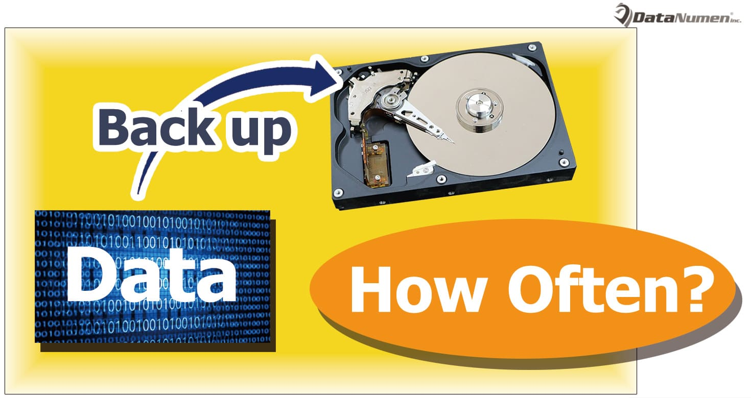 how often should you back up your data