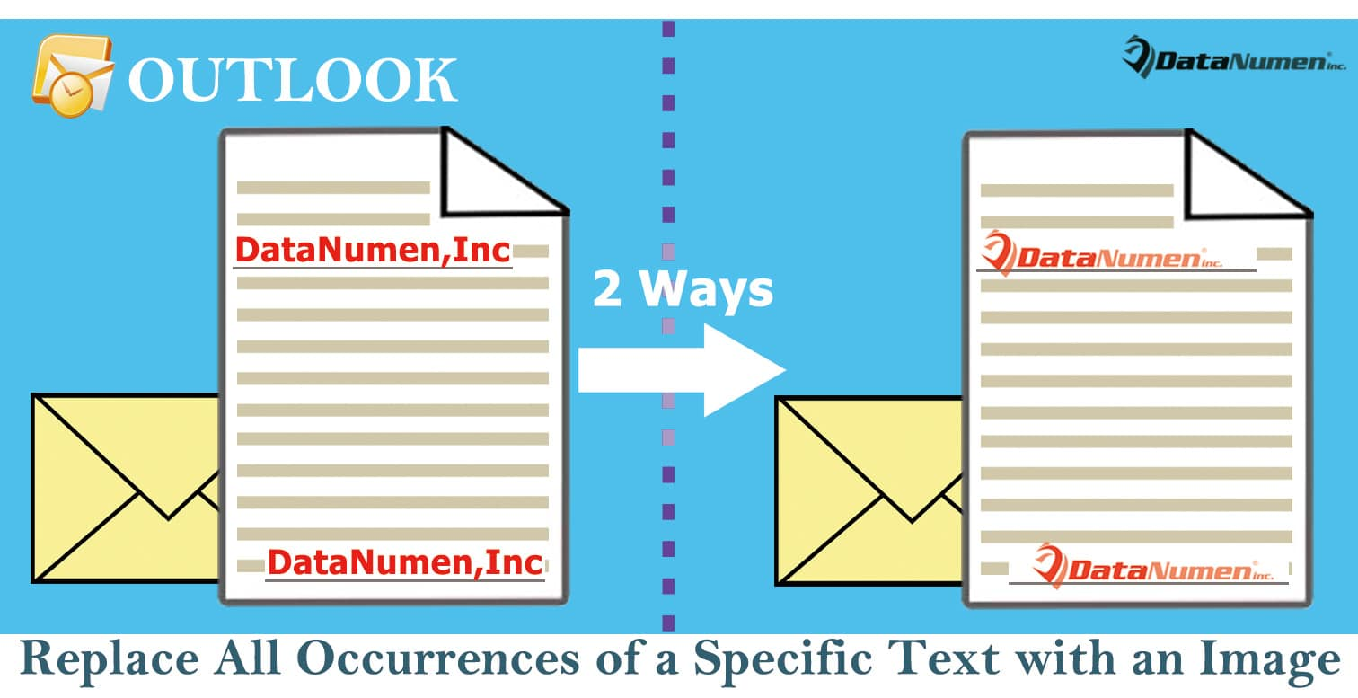 2 Ways to Replace All Occurrences of a Specific Text with an Image in an Outlook Email