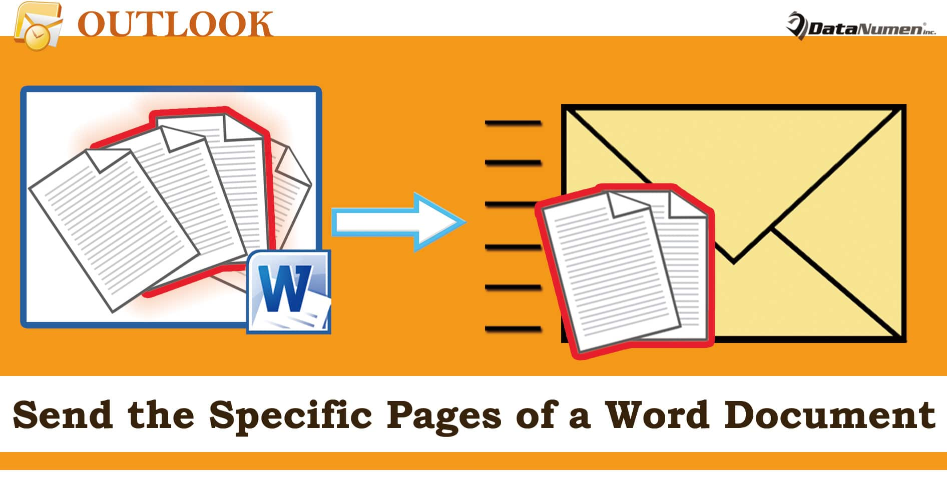 how to add a word document to an email