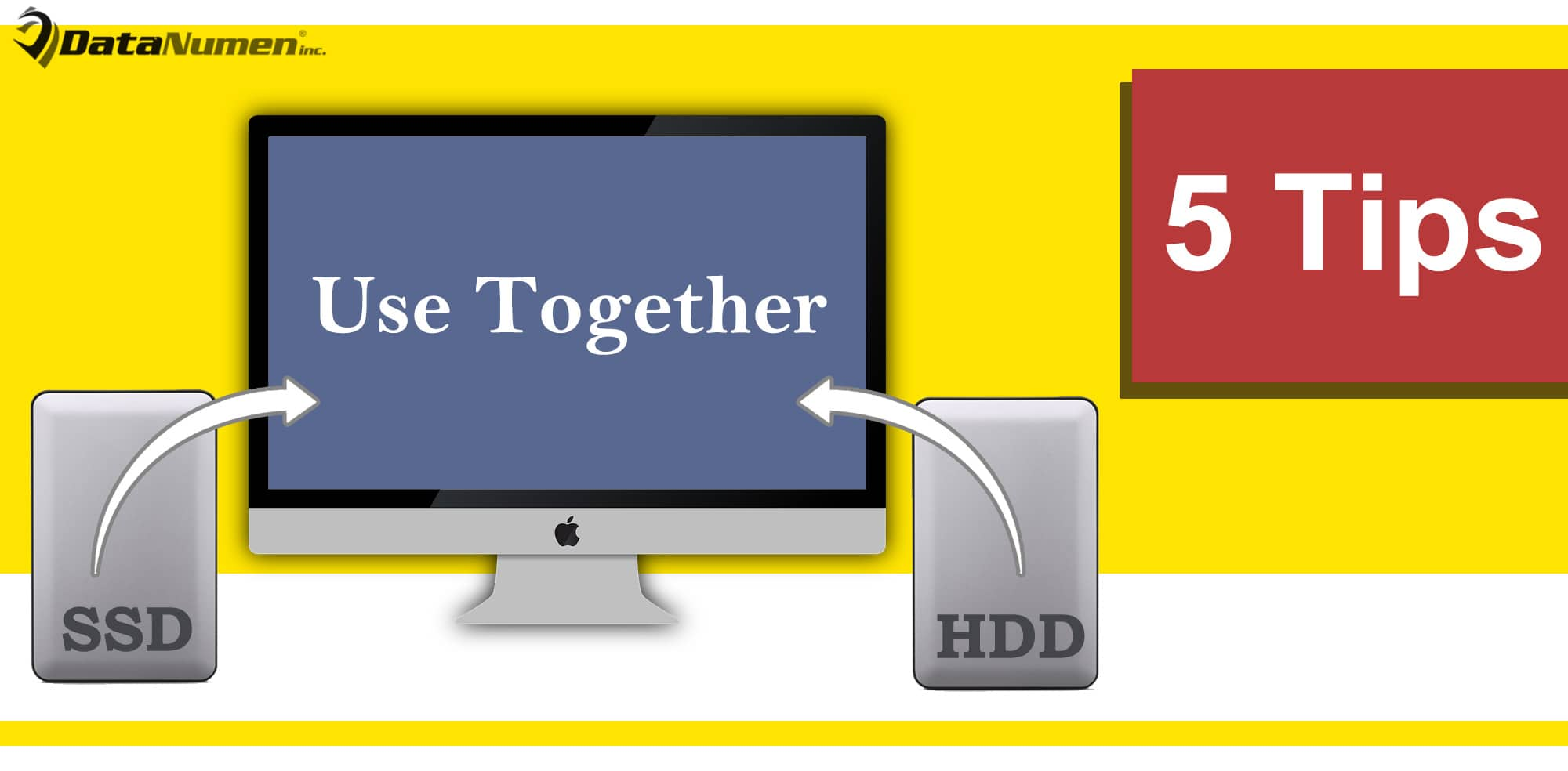 5 Effective Tips to Use SSD & HDD Together on One Computer