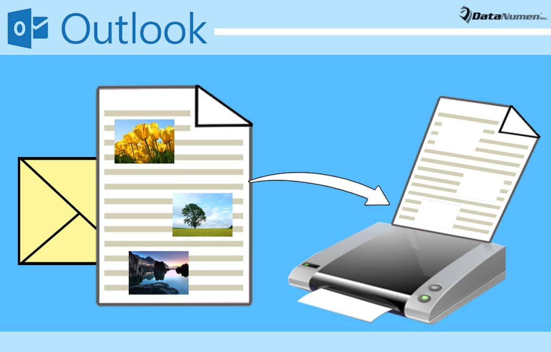 how to exclude embedded images when printing an outlook