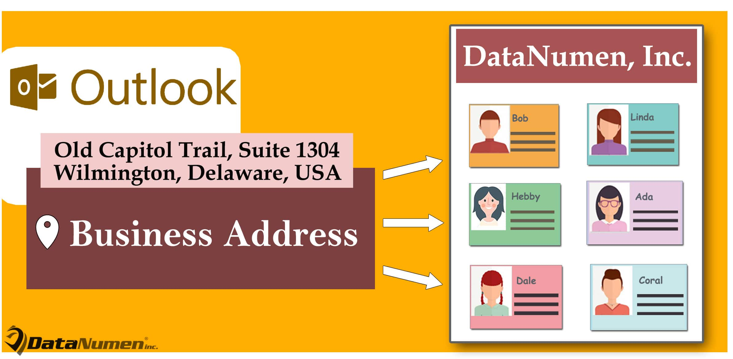 How to Batch Apply the Same Business Address to All Outlook Contacts