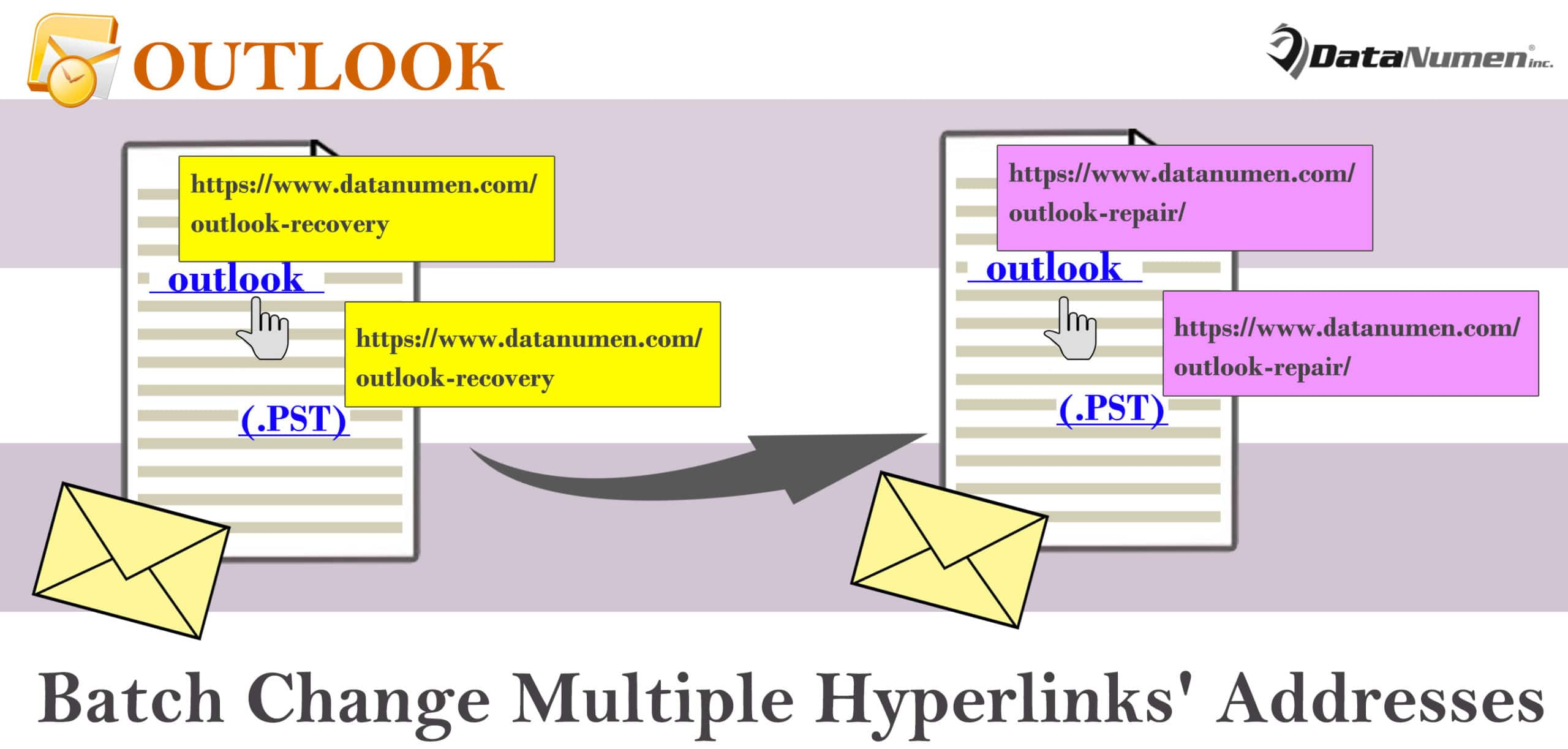 Batch Change Multiple Hyperlinks' Addresses in Your Outlook Email