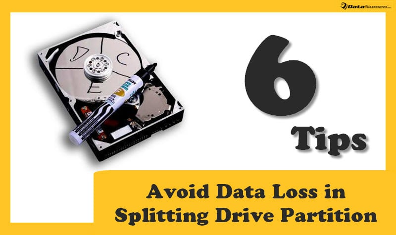 6 Tips to Avoid Data Loss in Splitting Drive Partition