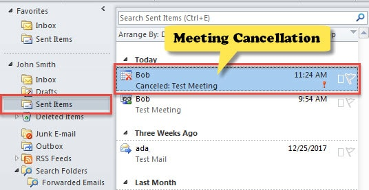 how to delete auto email in outlook
