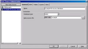 Source For Using Access Databases In Open Office