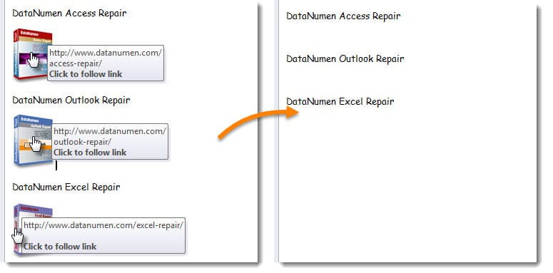 Delete Images with a Hyperlink