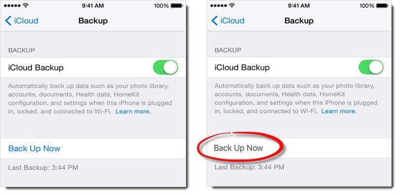 what does backing up your iphone do what to do if icloud quot back up now quot option is greyed out in 20535