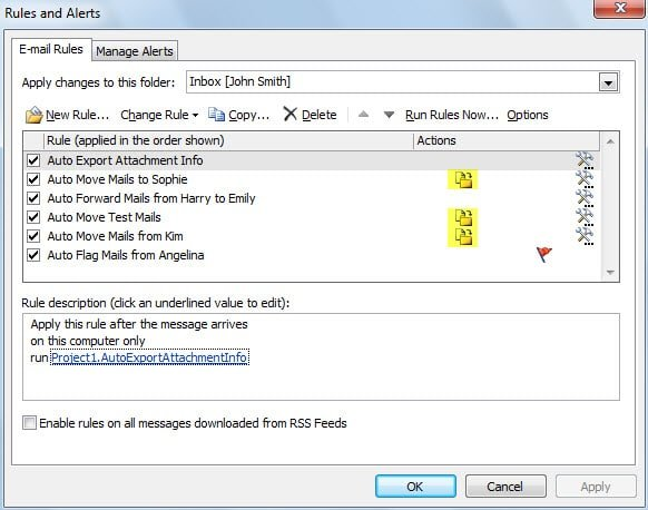 how to delete all information in outlook