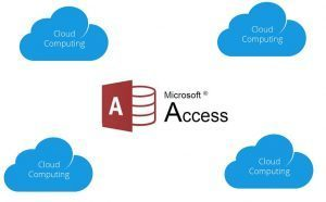 Using MS Access Over Cloud