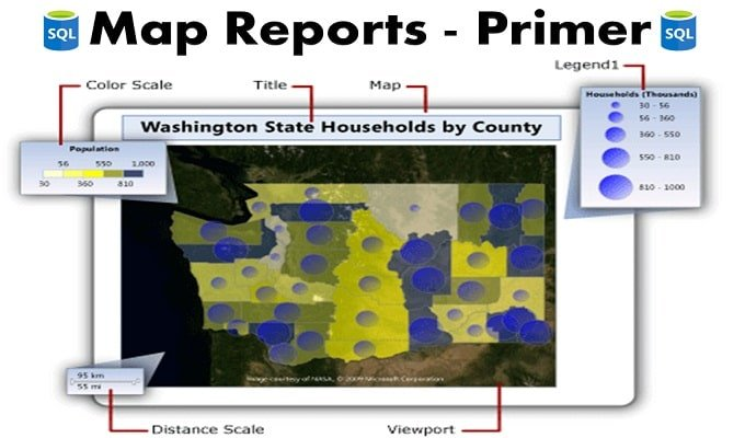 How to Work with Map Reports in SQL Server