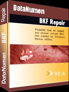 DataNumen BKF Repair Boxshot