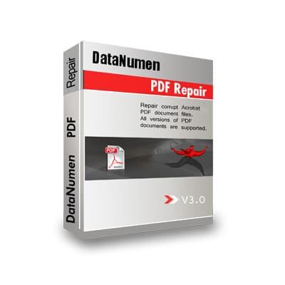 DataNumen PDF Repair Boxshot