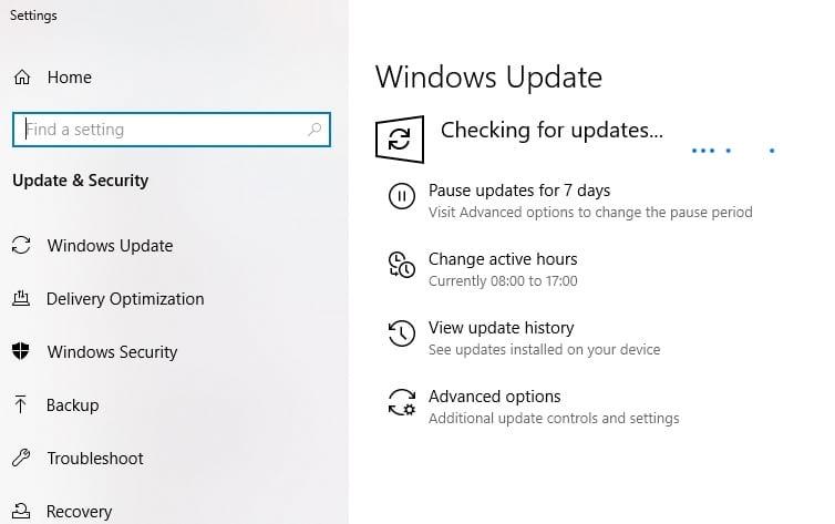 Apply Windows Updates