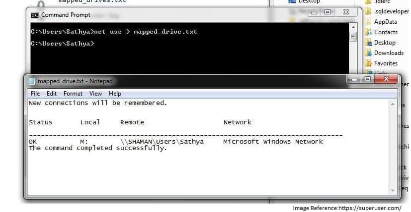 net use command