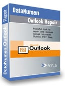 DataNumen Outlook Repair Boxshot